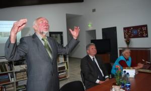 Prof. Libertas Klimka Druskininkuose. 2012 m.