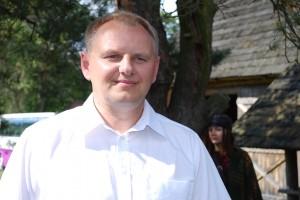 Dzūkijos nacionalinio parko direktorius Eimutis Gudelevičius. Marcinkonys, 2011 m.