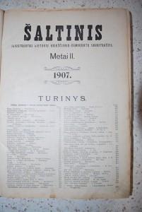 1907 m. savaitraštis Šaltinis