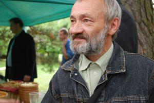 Poetas Stasys Stacevičius 2011 m. kraštiečių susitikime Marcinkonyse