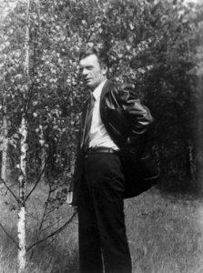 Poetas Antanas Kalanavičius Sapiegiškėse