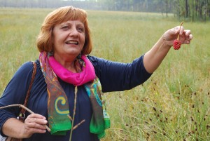 Onutė Monsevičienė papasakojo apie velionio vyro Virgilijaus Monsevičiaus mokslinę veiklą Čepkelių rezervate / Česlovas Skaržinskas