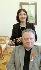 Su žmona Virginija