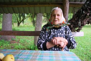 Brolius partizanus Ivanauskus prisiminė ir Gudakiemio kaimo gyventoja Adelė Žėkienė