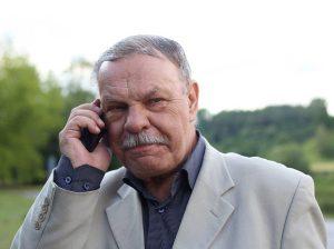 Rašytojas Aloyzas Tendzegolskis
